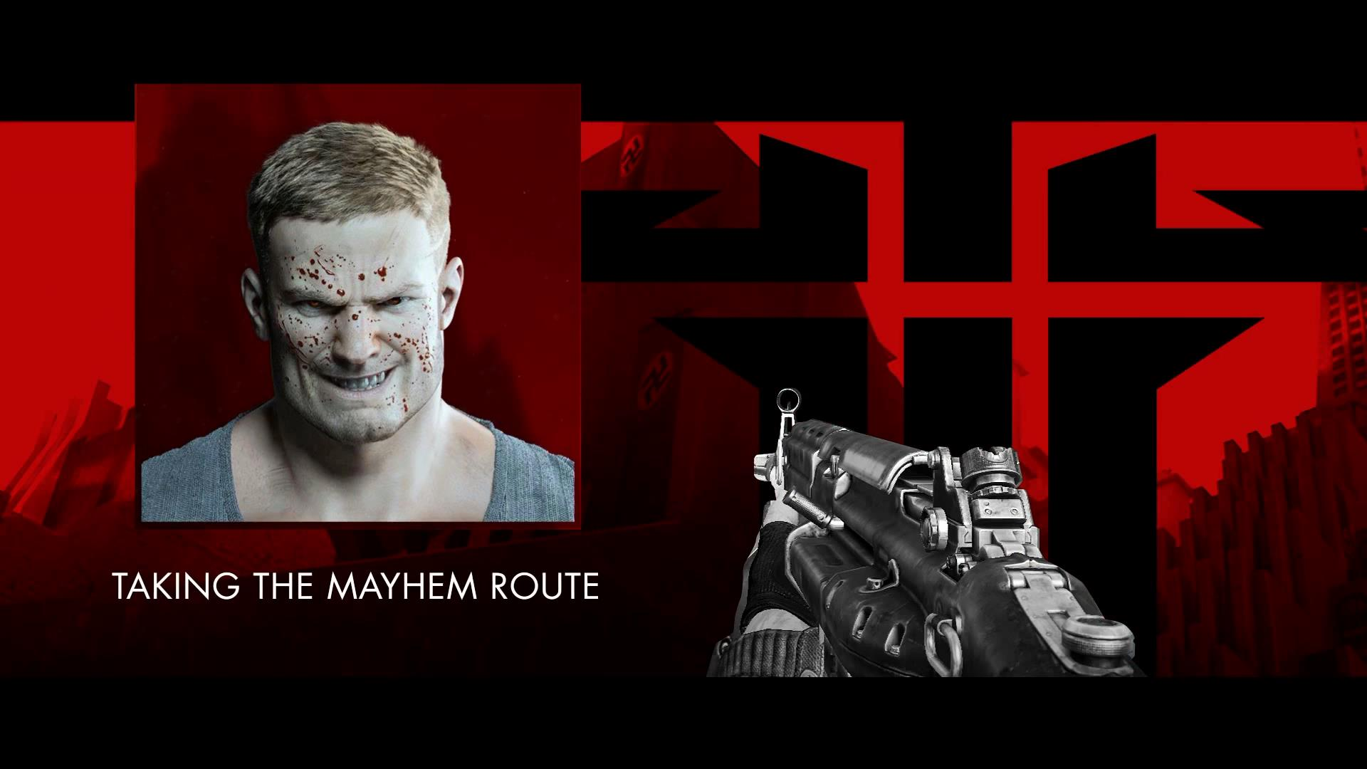 Wolfenstein The New Order Stealth vs. Mayhem
