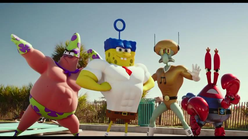 انیمیشن The SpongeBob Movie: Sponge Out of Water 2015