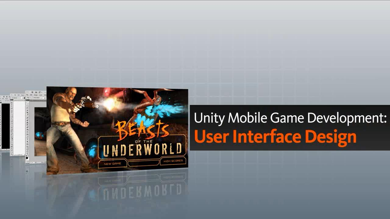 تریلر فیلم آموزشی Unity Mobile Game Development User Interface Design