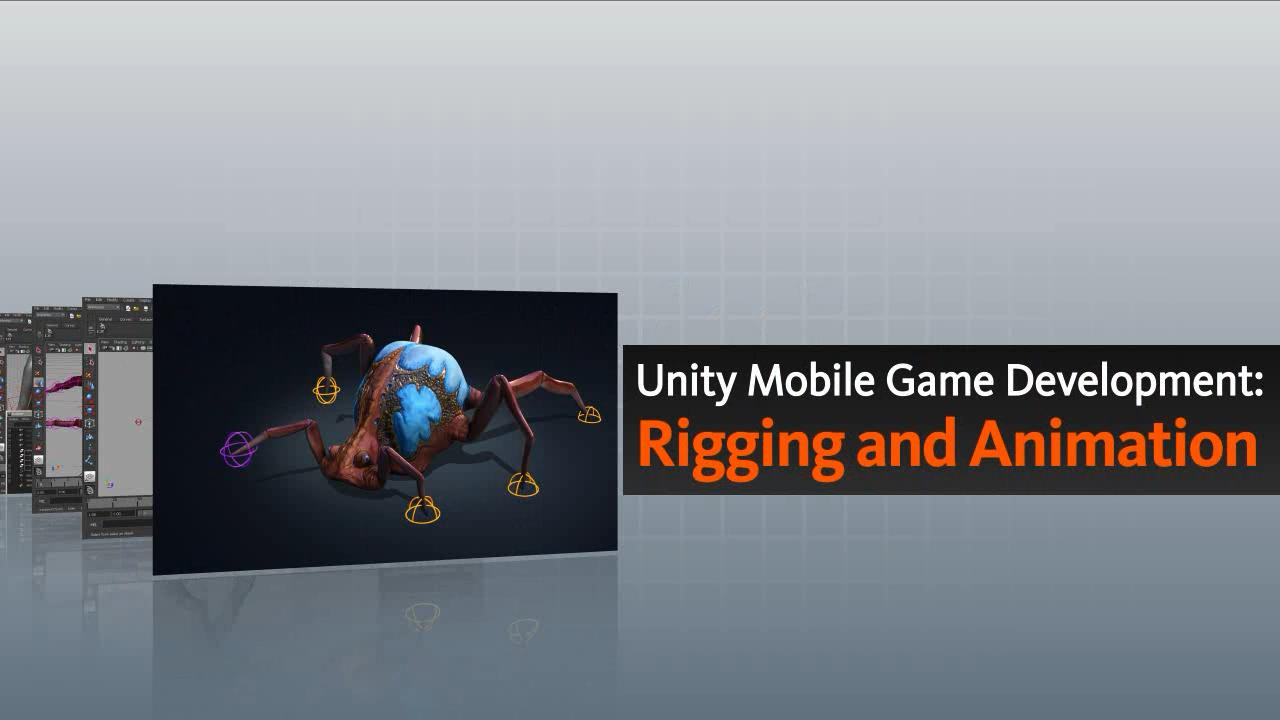 تریلر فیلم آموزشی Unity Mobile Game Development Rigging and Animation