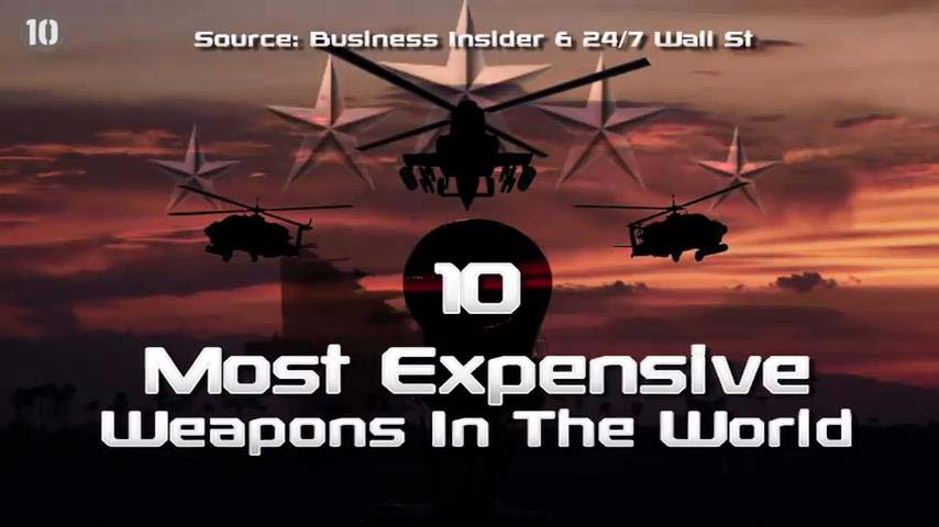 Most Expensive Weapons In The World